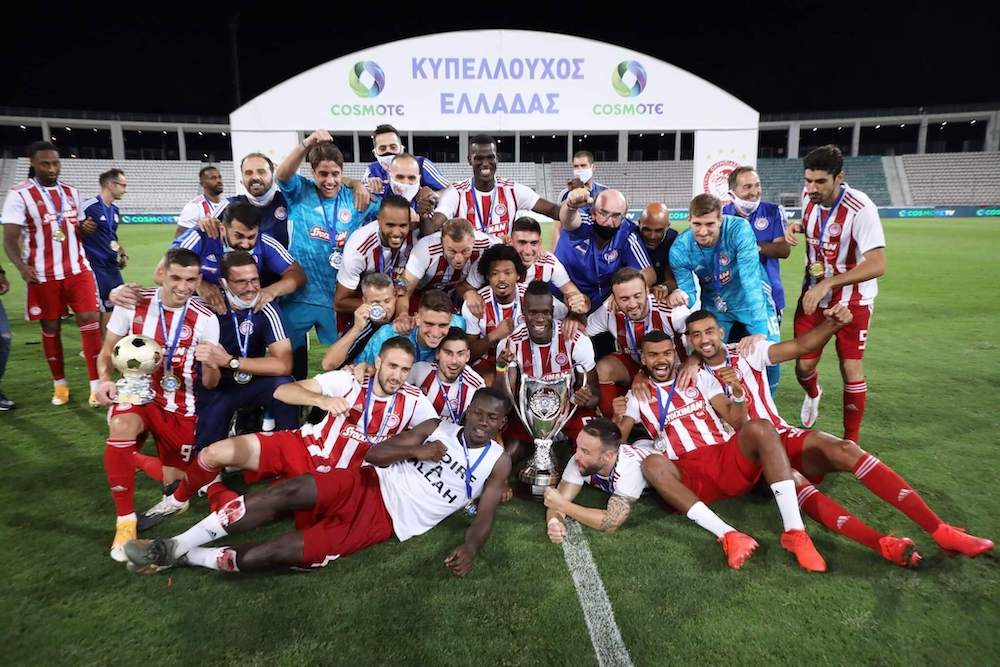 Olympiacos Greek Cup Winner 2019_2020